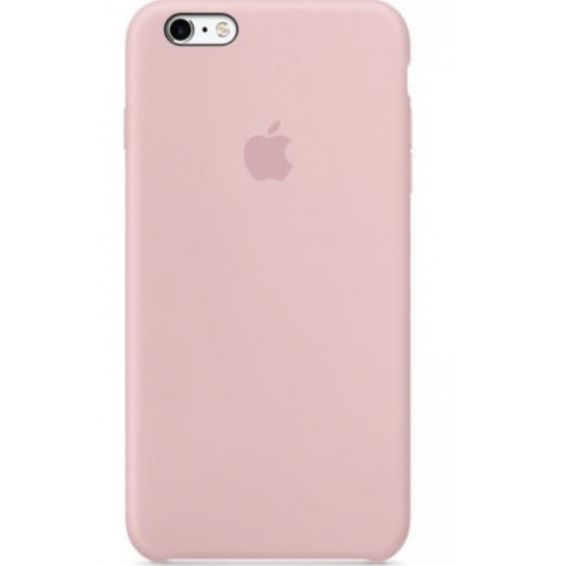 Coque silicone Apple iPhone 6/6S Rose Coton